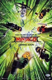 The Lego Ninjago Movie (9) Cast Signed 12x18 Mini Movie Poster BAS #A85188  - Beckett Authentication - Movie Photos at Amazon's Entertainment  Collectibles Store