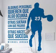 Sport Motivational Phrases Basketball Decal Tenstickers