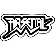 Arsenal Band Logo Decal Sticker Arsenal Band Logo Thriftysigns