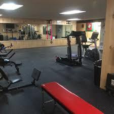 garage home gym rubber floor tiles