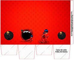 Prodigiosa Ladybug Cajas Para Imprimir Gratis Cajas Para