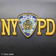 Nypd New York Police Department Iron On Embroidered Clothes Patches For Clothing Stickers Garment Wholesale Patches Aliexpress