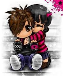 kids hug cartoon free images at clker
