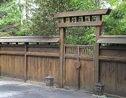 Japanese Style Japanese Fence Fence Design Japanese Gate