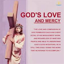 god s love and mercy permeates his work of management truth quote
