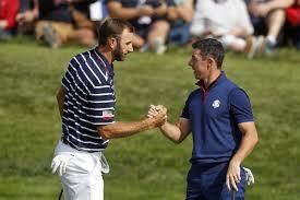 Johnson, McIlroy prepare for golf return before TV audience | Star ...