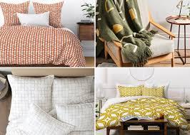 the best in mid century bedding