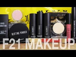 forever 21 makeup disaster first