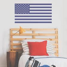 Usa Flag Wall Decal Labeldaddy