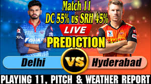 IPL 2020 DC vs SRH Playing 11 Preview ...
