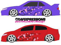 Cherry Blossom Custom Vehicle Livery Graphics Grafixpressions