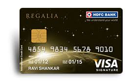 regalia credit card apply for the