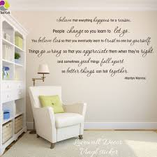 Marilyn Monroe Love Quote Wall Sticker I Believe Song Lyric Quote Wall Decal Sexy Girl Inspirational Motivational Quote Decal Leather Bag