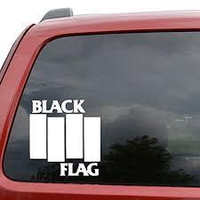 Black Flag Rock Band Car Window Decal Sticker Handsome And Cool Stickers Rear Window Car Sticker Car Stickers Aliexpress