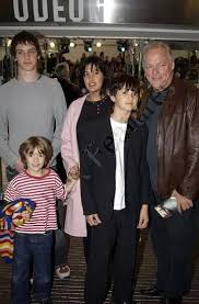 David Gilmour and Wife Polly Samson (80)