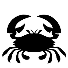Yjzt 16 4cm 12 5cm Crab Vinyl Decal Bumper Decorate Accessories Car Sticekr Pattern Black Silver C4 2521 Car Stickers Aliexpress