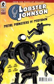 Lobster Johnson Metal Monsters of ...