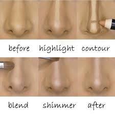 contour highlight diy makeup and