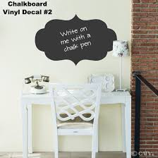 Chalkboard Decal 2 Wall Decal Self Adhesive Large Vinyl Etsy