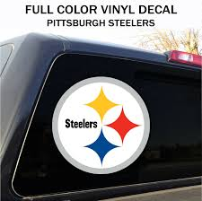 Pittsburgh Steelers Window Decal Graphic Sticker Car Truck Suv Ebay