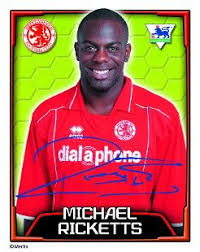 Michael Ricketts Topps Football Stickers, | Premier League