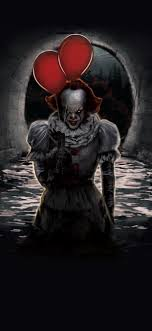 pennywise ballons iphone x wallpapers