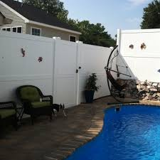 8 Augusta Vinyl Privacy Fence Weatherables