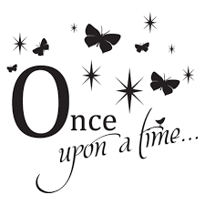 Once Upon A Time Butterfly Sparkles Wall Quotes Decal Wallquotes Com