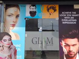 glam hair beauty makeup uni salon