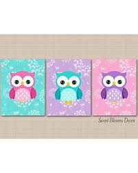 Get Ahold Of Fantastic Deals On Owl Nursery Wall Art Owl Nursery Decor Purple Pink Teal Owl Nursery Decor Owl Wall Art Purple Teal Dandelion Nursery Wall Art Owl Baby Room Decor Unframed Set Of 3 Prints Not