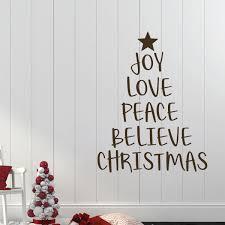 Christmas Tree Wall Decal Vinyl Decor Wall Decal Customvinyldecor Com