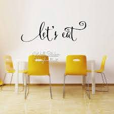 Let S Eat Home Quote Wall Sticker Dining Room Quotes Wall Decal Family Wall Lettering Easy Wall Art Cut Vinyl Q206 Quote Wall Decal Wall Stickerquote Wall Sticker Aliexpress