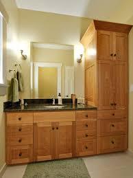 tall bathroom cabinet design ideas