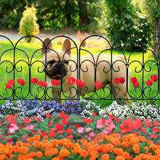 10 flower bed fencing ideas to spruce