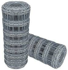 Premium Stock Wire Fence Galvanised Netting 2m X 50m 6ft 6 Ft X 50mts L23 200