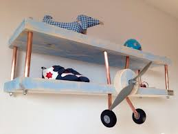 You Can Diy An Airplane Shelf For A Boys Room Using To Wood Boards And Copper Pipes Shelterness Cool Kids Rooms Kid Room Decor Kids Room