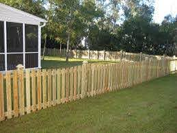 4 Foot Wood Fences Cs Fences Charleston Wood Aluminum Fences