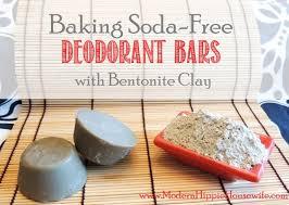 baking soda free deodorant bars with