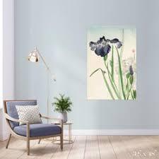 Iris Colossal Art Print The Detroit Wallpaper Co