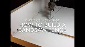 How To Build A Bandsaw Fence Youtube