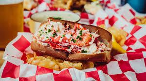 Popular lobster roll and seafood menu ...