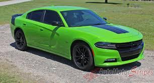 2015 2021 Dodge Charger Hood Decal Daytona Center Hemi Stripes Vinyl Auto Motor Stripes Decals Vinyl Graphics And 3m Striping Kits
