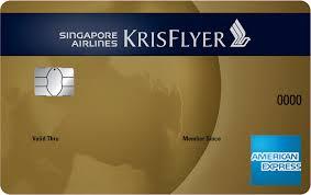 singapore airlines krisflyer american