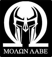 Punisher Skull Spartan Helmet Molon Labe Car Truck Window Laptop Decal Sticker Auto Parts And Vehicles Other Car Truck Decals Stickers Magenta Cl