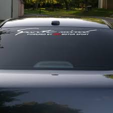 Amazing Windscreen Windshield Car Sticker Decal For Peugeot Archives Midweek Com