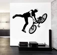 Wall Decal Vinyl Sticker Bike Bmx Extreme Sport Unique Gift Z3213 Wallstickers4you
