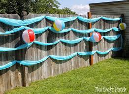 Splish Splash Birthday Bash The Craft Patch Pool Birthday Party Splash Party Beach Themed Party