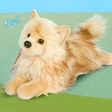 plush pomeranian dog stuffed