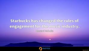starbucks has changed the rules of engagement for the music