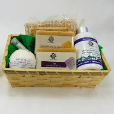 goat soap gift basket large silly